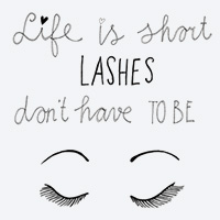 Life is short lashes dont have to be