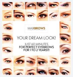 Maxbrows Behandeling